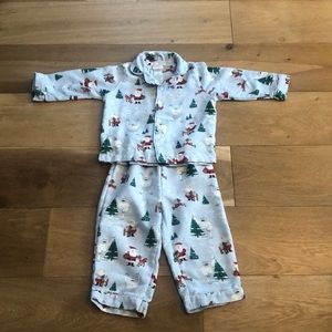 Pottery barn kids Rudolph pajamas
